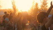 Happy People are Dancing Stock Footage