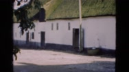 1948: residential area is seen DENMARK Stock Footage