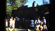 1963: tourist area is seen CALIFORNIA Stock Footage