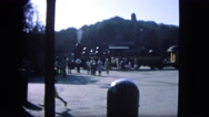 1963: train is leaving the station CALIFORNIA Stock Footage