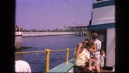 1963: ship is seen CALIFORNIA Stock Footage