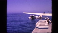 1963: an aircraft is seen being prepared CALIFORNIA Stock Footage