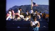 1963: an american ferry with lots of people CALIFORNIA Stock Footage