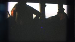 1963: captain stop the boat turn of your engine and give your belts CALIFORNIA Stock Footage