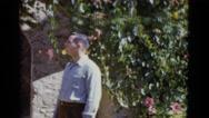 1952: garden is seen NEW ORLEANS Stock Footage