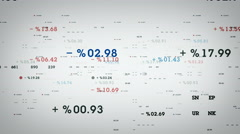Percentages And Margins White Stock Footage