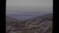 1952: hilly area is seen with trees and greenery NEW ORLEANS Stock Footage