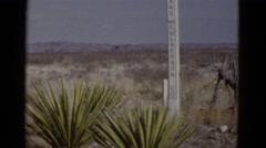 1952: desert area is seen ARIZONA Stock Footage