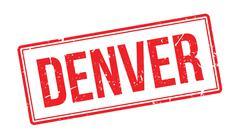 Denver rubber stamp Stock Illustration