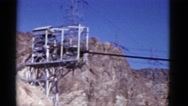1952: hilly area is seen with trees and greenery CALIFORNIA Stock Footage