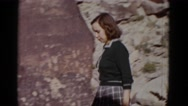 1952: outdoor scene CALIFORNIA Stock Footage
