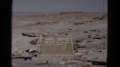 1952: desert area is seen CALIFORNIA Stock Footage