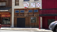 Tonopah close western village Stock Footage