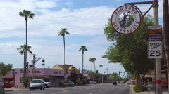 Old Town Scottsdale sign Stock Footage