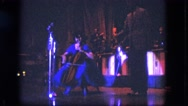 1963: music scene is seen by kid CALIFORNIA Stock Footage