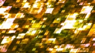 Broadcast Twinkling Slant Hi-Tech Squares, Green, Abstract, Loopable, 4K Stock Footage