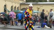 Slow Motion 2016 Munich Oktoberfest Octoberfest Parade German Beer Festival Stock Footage