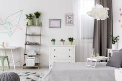 New flat with DIY decorations idea Stock Photos