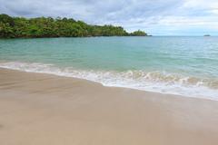Beach Manuel Antonio Costa Rica Stock Photos