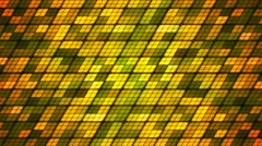 Broadcast Twinkling Slant Hi-Tech Cubes, Green, Abstract, Loopable, 4K Stock Footage