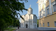 Orthodox Russian Cathedral Vladimir Stock Footage