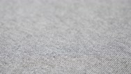 Fine gray sweat shirt or pants fine fabric texture close-up 4K 2160p 30fps Ul Stock Footage