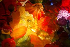 Dale Chihuly sculpture at the ROM in Toronto 2016 Stock Photos