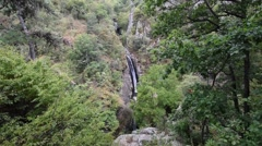 Fotinski waterfalls in Rodopi Bulgaria Stock Footage