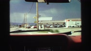 1968: a road trip is seen VANCOUVER, CANADA Stock Footage