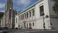 The New York Historical Society on Central Park West in Manhattan, New York. Stock Footage