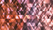 Broadcast Twinkling Hi-Tech Diamonds, Brown, Abstract, Loopable, 4K Stock Footage