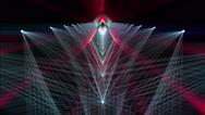 Abstract Volumetric Lights Vj Loop Stock Footage