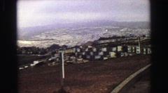 1968: the most beautiful things are seen from above SEATTLE, WASHINGTON Stock Footage
