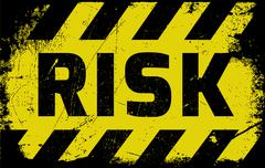 Risk sign Stock Illustration