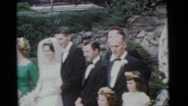 1963: a married couple is seen walking CAMDEN, NEW JERSEY Stock Footage