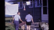 1963: a residential area is seen CAMDEN, NEW JERSEY Stock Footage