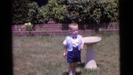 1963: a kid is seen CAMDEN, NEW JERSEY Stock Footage