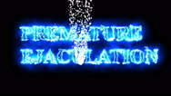 Animation of premature ejaculation effect .  Stock Footage