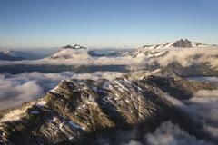 Mountain Range Near Sechelt BC Kuvituskuvat