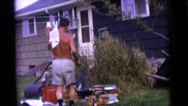 1963: a cooking scene is seen CAMDEN, NEW JERSEY Stock Footage