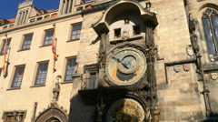 Old Town Square Prague, Czech Republic Stock Footage