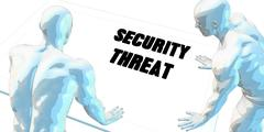 Security Threat Stock Illustration