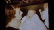 1961: a mother with a small child is seen DETROIT, MICHIGAN Stock Footage