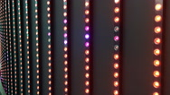Colorful flashing lights Stock Footage