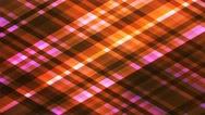 Broadcast Twinkling Diamond Hi-Tech Strips, Orange, Abstract, Loopable, 4K Stock Footage