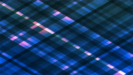 Broadcast Twinkling Diamond Hi-Tech Strips, Blue, Abstract, Loopable, 4K Stock Footage
