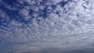 Clouds on blue sky Stock Footage