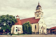 Parish church of saint archangel Michael and funeral chapel of saint Anna, Sk Kuvituskuvat