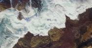 Bondi Waves - Drone Shot Stock Footage