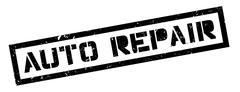 Auto Repair rubber stamp Stock Illustration
